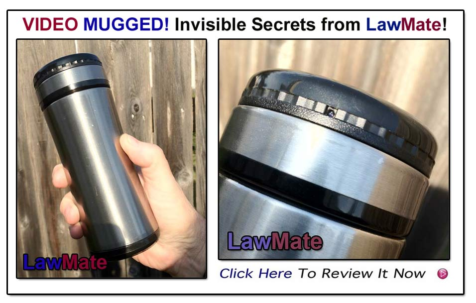 LawMate Video Mug- Camera/DVR From LawMate America- www.pimall.com/nais
