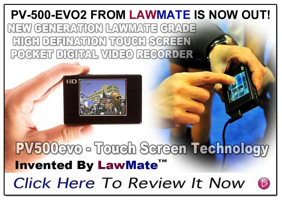 PV500 EVO2 Pocket DVR from LawMate- www.pimall.com/nais