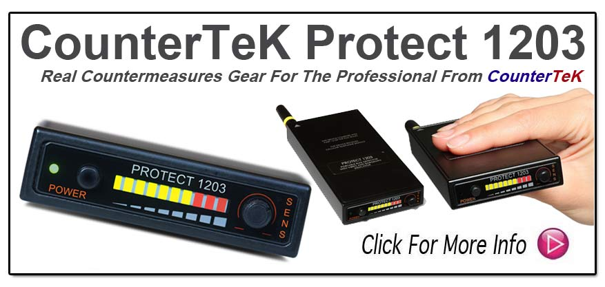 New Generation- CounterTeK Pro Scan Protect 1203 Detector - www.pimall.com/nais