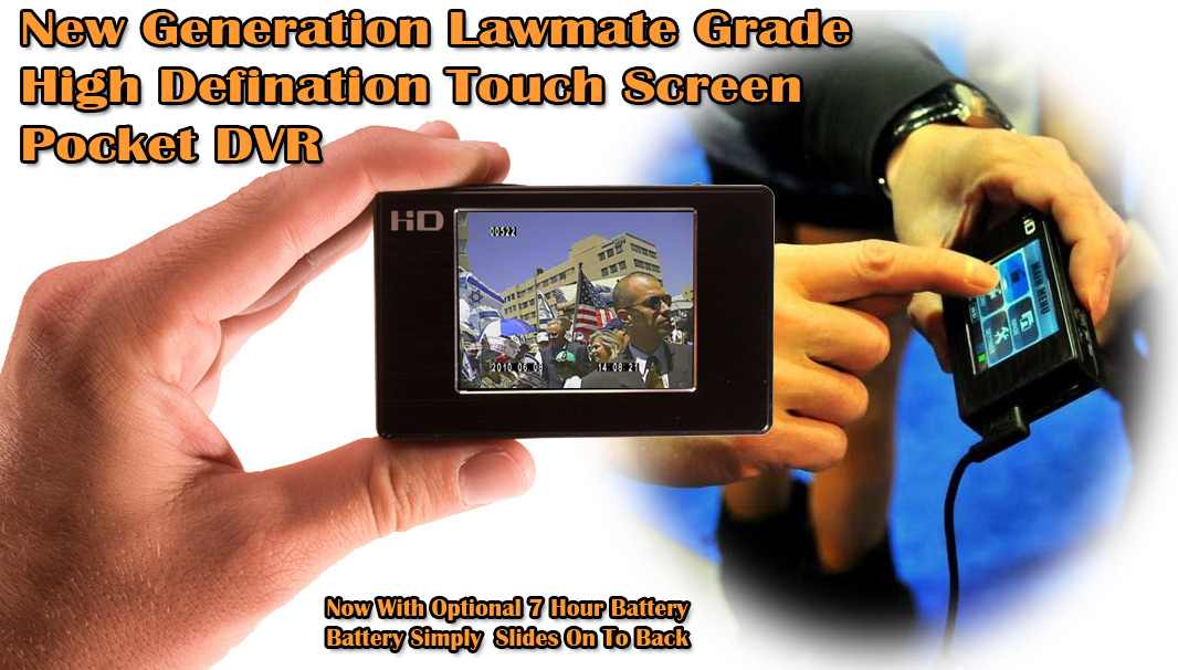 Lawmate touch Screen PV500 HD