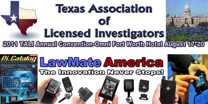 Texas Association Of Licensed Investigator's Summer Conference!