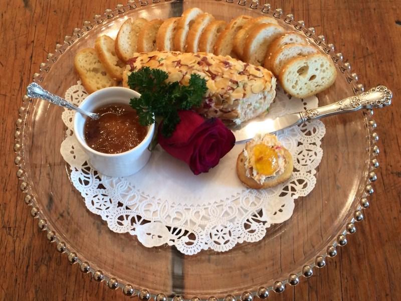 Palmetto Pimento Cheese cheeseball