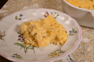 Palmetto cheese Grits Casserole