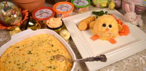 Palmetto cheese grits casserole
