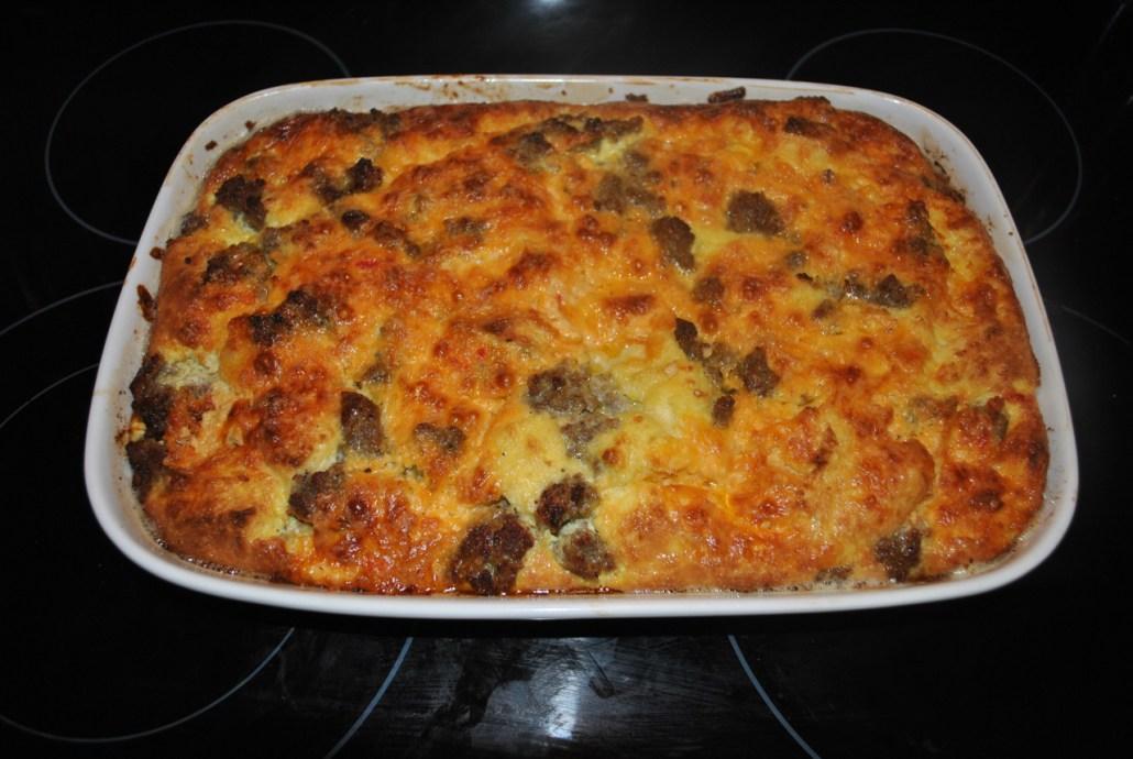 Palmetto Pimento Cheese Breakfast Casserole