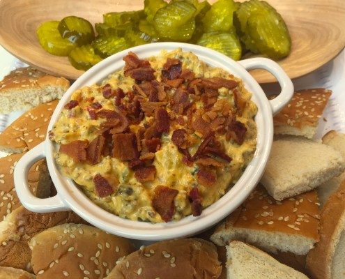 Bacon Cheeseburger Dip Palmetto Cheese