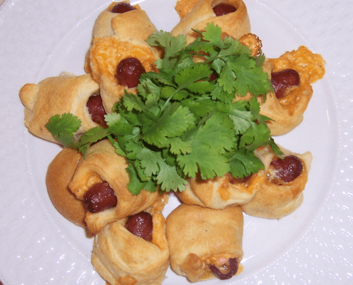 Palmetto Cheese Franks in a Blanket