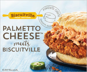 Spicy Jalapeno Pimento Cheese Biscuit at Biscuitville