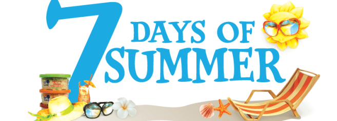 Seven days of summer giveaway
