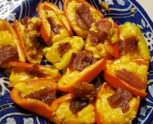 minnie pepers with pimento cheese