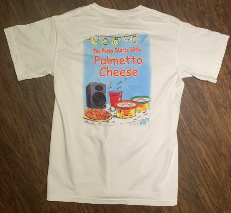 All Palmetto Cheese merchandise has FREE SHIPPING. All payments are processed using PayPal. Get Carried Away is the business name used for PayPal. South Carolina Residents will be required to pay sales tax
