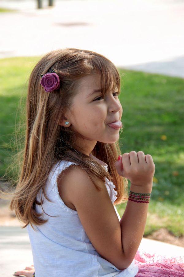 Colección Autumn - clip para el pelo rosas | Pimienta y Purpurina