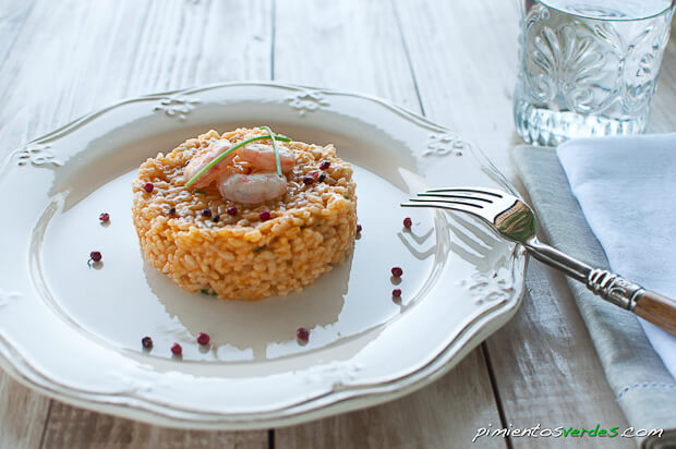 Arroz con romesco