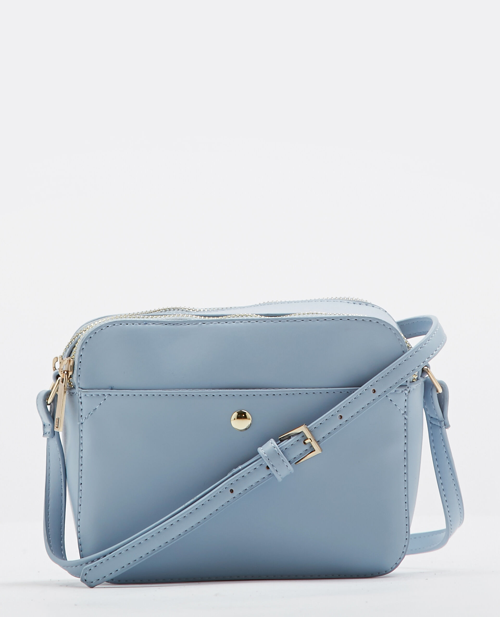 Petit sac boxy bleu