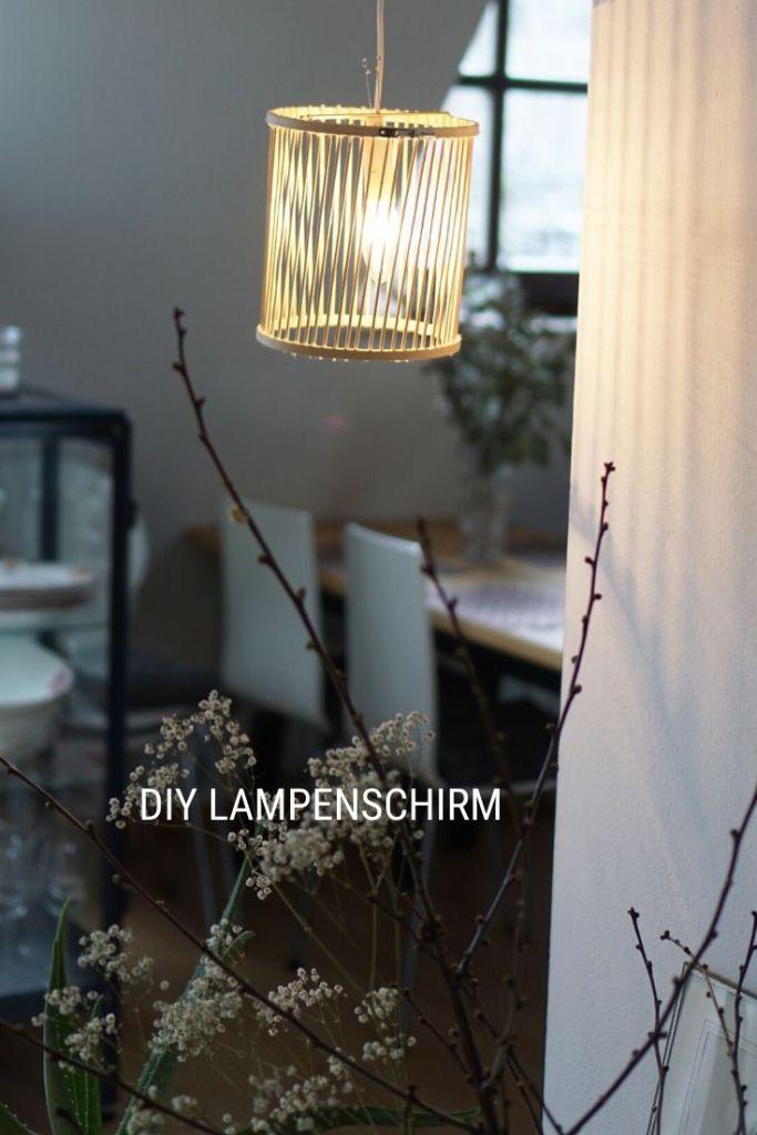DIY Boho Lampe selber machen