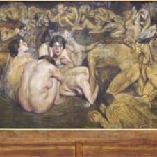Domenico Baccarini (Faenza, 1882 - 1907), L'umanità dinanzi alla vita (Le passioni umane)