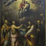 Ercole Procaccini, Incoronazione della Madonna, angeli e i SS. Celestino Papa, Giovanni Battista, Luca, Benedetto