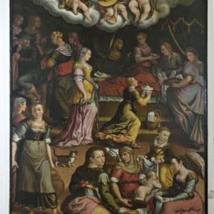 Giovanni Battista Bertucci il Giovane (Faenza, 1539 - 1614), Nascita della Madonna