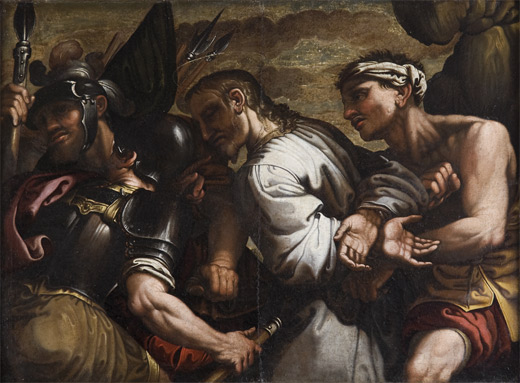 Ferraù Fenzoni , Christ conducted to Calvary