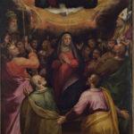 Giovanni Battista Ramenghi, detto Bagnacavallo jr., Discesa dello Spirito Santo con i SS. Petronio e Gregorio Magno