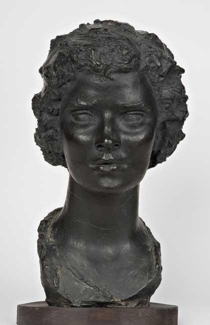 Angelo Biancini, Ritratto di giovane donna