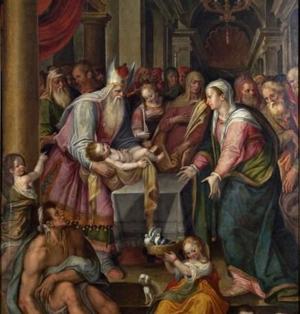 Nicolò Paganelli (Faenza, 1538 - 1620), Presentazione di Gesù al Tempio