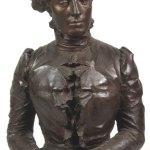 Domenico Baccarini, Busto di donna con mani giunte, (Pensiero)