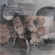 olio su tela, 1973, cm. 80x60, N. inv. 1759