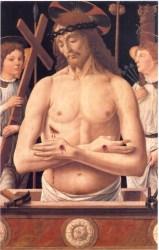 Biagio d'Antonio, Cristo in pietà