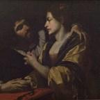 Simon Vouet (copia da), Coppia di amanti