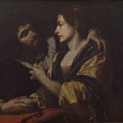Simon Vouet, copia da (sec. XVII), Coppia di amanti