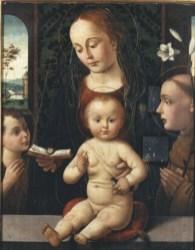 Biagio d'Antonio, Madonna col Bambino e i SS. Giovannino e Antonio da Padova