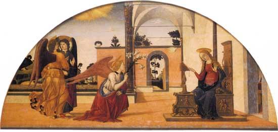 Biagio d'Antonio, Annunciazione