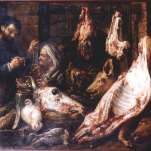 Felice Boselli (Piacenza, 1650 - Parma, 1732), Macelleria: interno di negozio