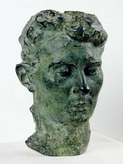 Auguste Rodin, Portrait of his wife Rose Beuret