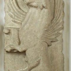 pietra d'Istria, seconda metà sec. XII, cm. 113x58x16, dalla chiesa di Santa Maria Foris Portam, N. inv. 53
