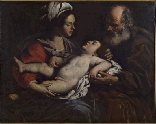 Rutilio Manetti, The Holy Family