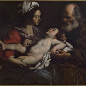 Rutilio Manetti (Siena, 1571 - 1639), Sacra Famiglia