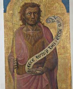 Maestro di San Pier Damiano (sec. XV), San Giovanni Battista