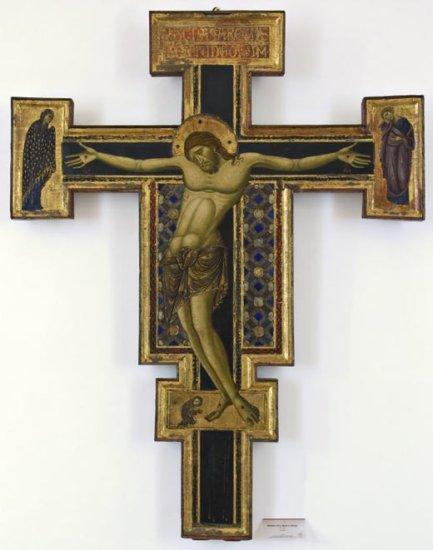 Maestro di S. Maria in Borgo Sec. XIII, Crocifisso