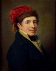 GASPARE LANDI (1756-1830) Autoritratto Olio su tela, cm 62,5 x 49 Inv. n. 986 Provenienza: acquistato nel 1885