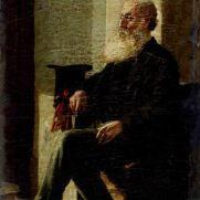 NATALE SCHIAVONI (1777-1858) Ritratto d'uomo Olio su tela, cm 33 x 23 Inv. n. 295 Sul telaio la scritta: SCHIAVONI VENEZIA/1840 Ritratto Provenienza: donazione Golfieri, 1989