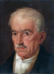 SILVESTRO LEGA (1826-1895) Ritratto d'uomo Olio su tela, cm 36 x 29 Inv. n. 1539 Provenienza: donazione Golfieri, 1989
