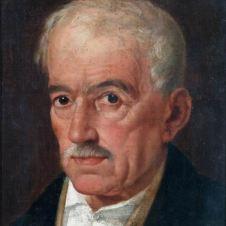 Silvestro Lega, attr. (Modigliana, 1826 - Firenze, 1895), Ritratto d'uomo