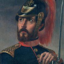 Stefano Ussi (Firenze, 1832 - 1901), Ritratto di Federico Argnani
