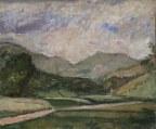 ARTURO TOSI (1871–1956) Paesaggio