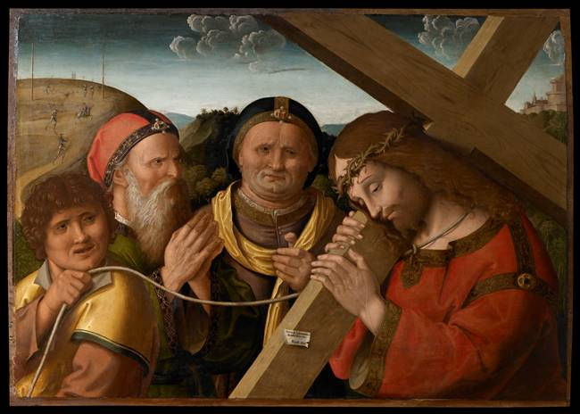 Marco Palmezzano, Cristo portacroce, Musei di san domenico, 1535