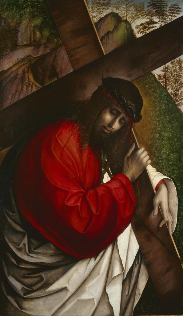 Francesco Zaganelli, Cristo portacroce, 1510 – 1520, Olio su Tavola, cm 95 x 55, Brera