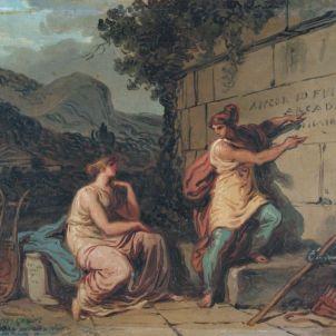 Felice Giani (San Sebastiano Curone, 1758 – Roma, 1823), Et in arcadia ego