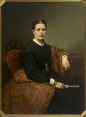Giacomo Albè, Ritratto di Teresa Magnaguti Pasolini Zanelli